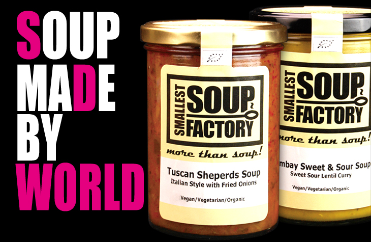 SOUP MADE BY WORLD
